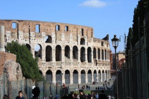 The Coloseum in Rome